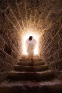 Christ is risen, resurrection, heaven on earth, God loves you, God loves me