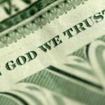 In God we Trust, money from God, prayer for money